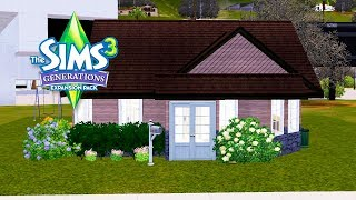 CUTE FAMILY STARTER HOME | The Sims 3 Speed Build