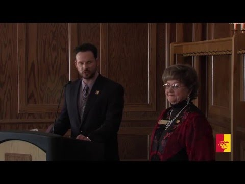 2016 Distinguished Service Reception (full program) - Pittsburg State University