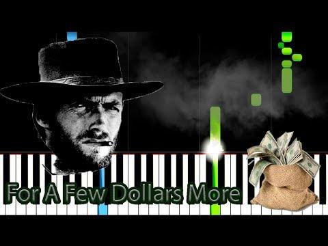 Ennio Morricone - For A Few Dollars More  - Piano tutorial