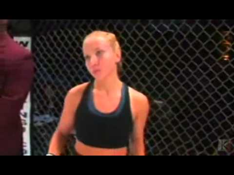 Gina Carano's first MMA fight