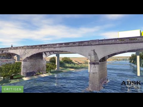 InfraWorks 360 - Point Clouds aniamation