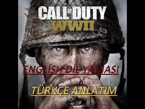Call Of Duty WW2 Dil Sorunu (ENGLİSH) Dil Link'te Türkçe Anlatım
