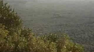 View of island of Proti from Gargaliani Messinias Greece