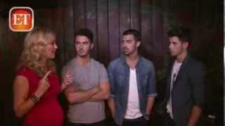 ET Exclusive : Backstage With The Jonas Brothers