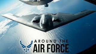 Around the Air Force: Senior NCO Promotion Changes / High Schoolers Solve B-2 Problem