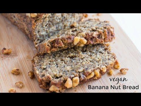 Easy Banana Nut Bread - Vegan & Dairy Free
