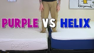 Purple Mattress vs Helix | What!? What!?