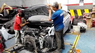 VIDEO REPARACION VEHICULO HYUNDAY CELESTE GUAYAQUIL