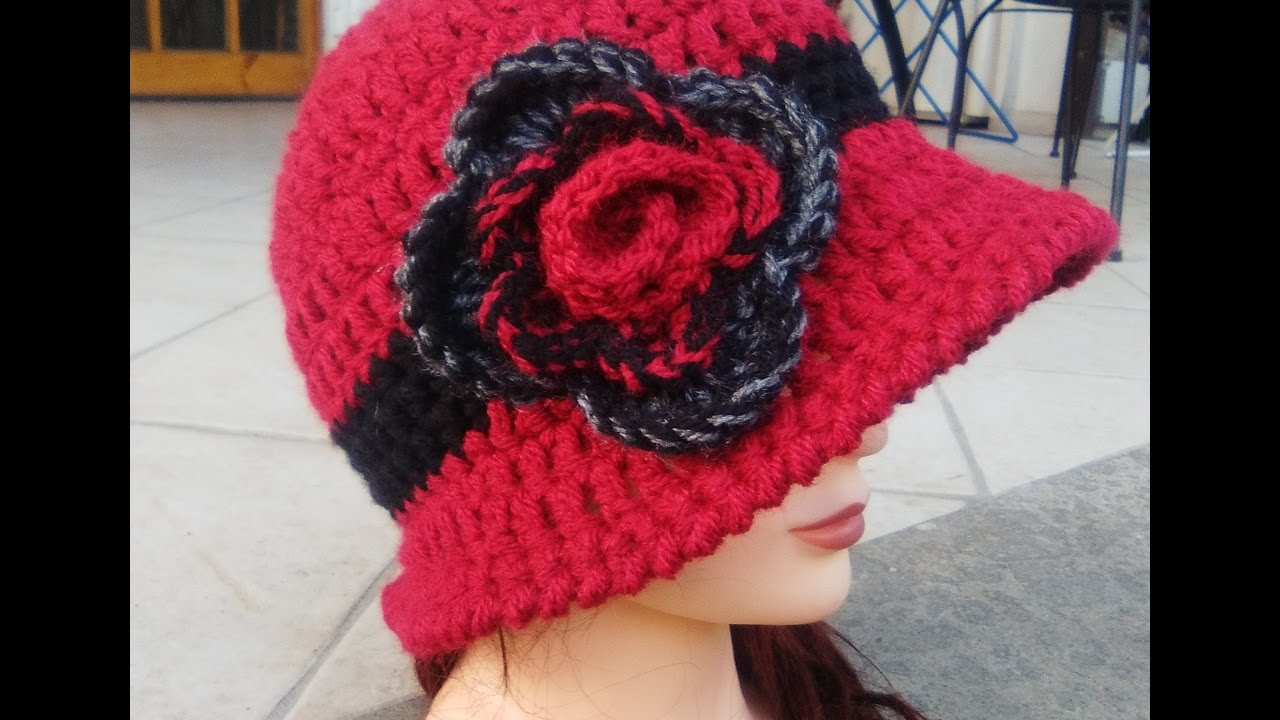 Tutorial Cappello Cloche Anni 20 Uncinetto Youtube