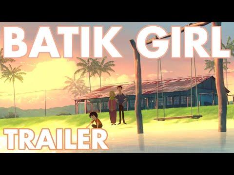 Batik Girl - Trailer - 2D animated short film