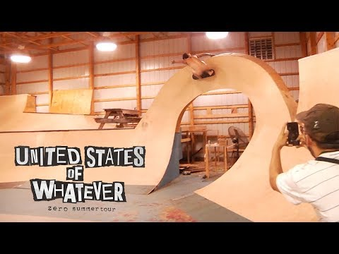 Zero Skateboards - United States of Whatever Tour | Episode 3 - BAM'S HOUSE!