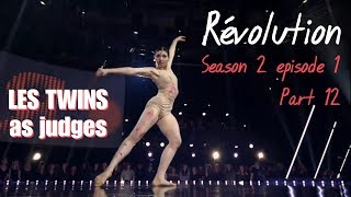 Révolution S02E01 - Part 12 Cindy (Les Twins as judges)