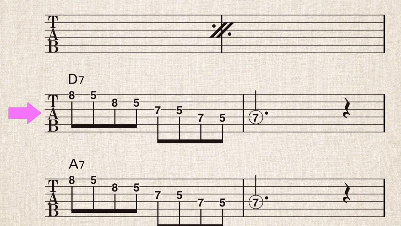 フレーズ ブルース ギター
