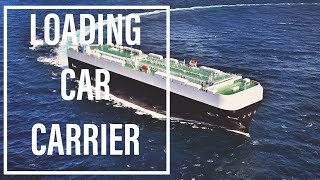 How are Cars Loaded? Cargo Operations on Pure car & truck carrier Ship in 4K