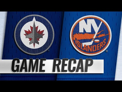 Jets score twice in 22 seconds to edge Islanders, 3-1
