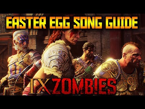 IX - Secret Easter Egg Song Guide (Black Ops 4 Zombies)