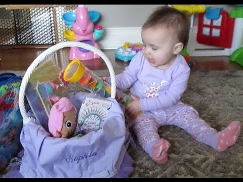 Babys first easter basket 277 youtube negle Image collections