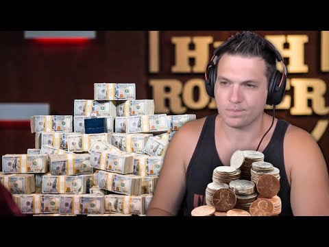 Playing poker for REAL money LIVE!
