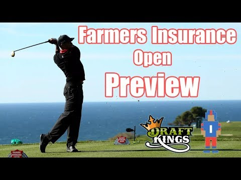 Farmers Insurance Open Preview & Picks - DraftKings