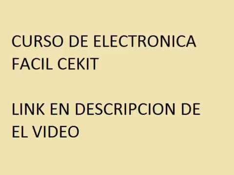 Descarga curso de elctronica basica cekit en pdf youtube for Curso de cocina basica pdf