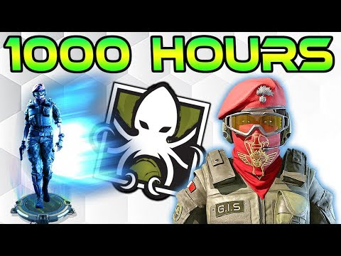 What 1000 HOURS of ALIBI Experience Looks Like - Rainbow Six Siege