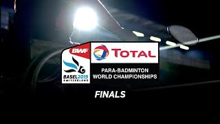 LIVE Total BWF Para-Badminton World Championships 2019 - Wheelchair Hall   FINALS