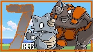 INTERESTING FACTS About Rhydon and Rhyperior - The First Pokemon?!?