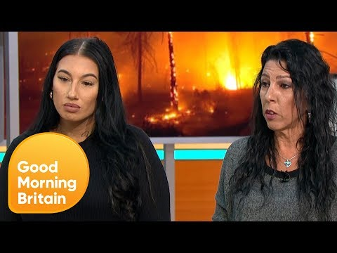 Family Describe How They Escaped From the Devastating Greece Wildfires | Good Morning Britain