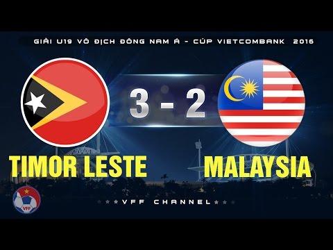 TIMOR LESTE 3-2 MALAYSIA | HIGHLIGHTS