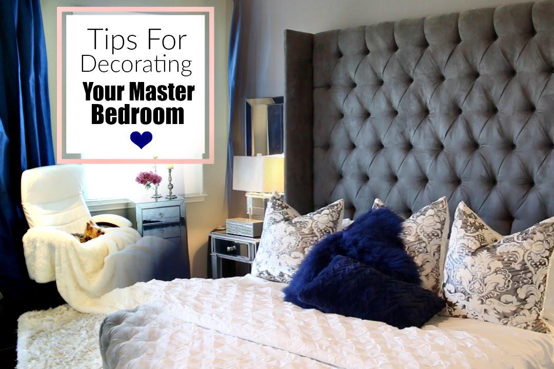 Luxury Master Bedroom Decorating Ideas - MissLizHeart - YouTube