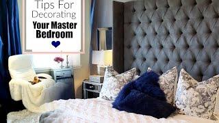 Luxury Master Bedroom Decorating Ideas - MissLizHeart