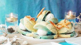【人魚のおやつ】チョコミント真珠パン #ホームベーカリー Supported by...