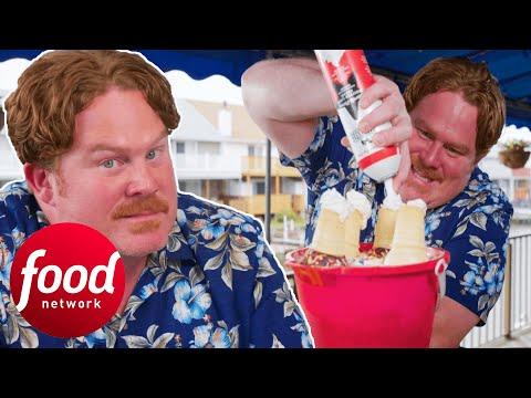 Casey V The Titanic Sundae Challenge | Man V Food