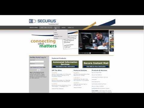Learn how to use www.securustech.net website in simple steps.