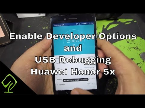 How to Enable Developer Options and USB Debugging on Huawei Honor 5x