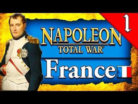 RISE OF NAPOLEON! Napoleon Total War: Darthmod - France Campaign Gameplay #1