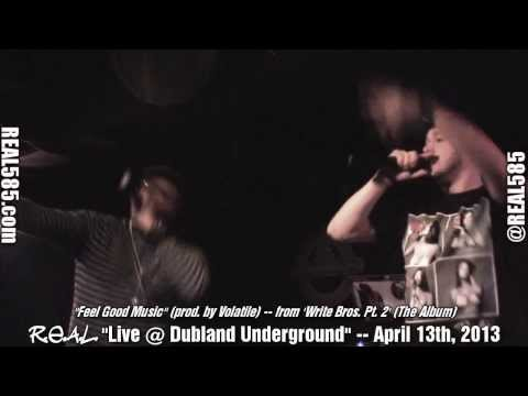 'R.E.A.L.' Opens Up For 'Mickey Factz' @ Dubland Underground April 13th, 2013 - Rochester, NY