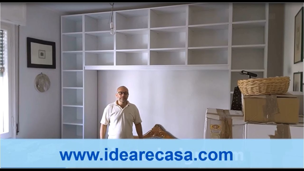 Libreria Ponte su Misura H 295 - YouTube
