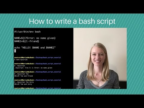How to write a bash script that takes user input – OMGenomics