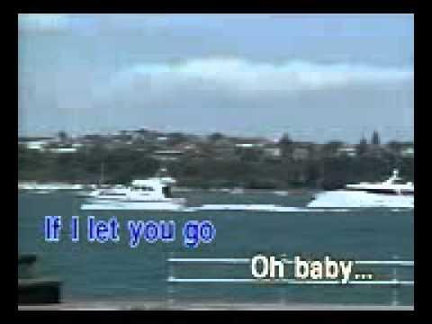 if i let you go   romah pep karaoke