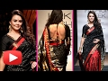Preity Zinta Desi Look - Backless Blouse | Lakme Fashion Week 2017 | Day 2
