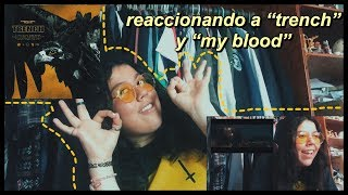 "TWENTY ONE PILOTS REGRESO ALV!: REACCIONANDO A ""TRENCH"" Y ""MY BLOOD""// spooky mar"