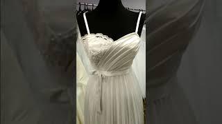 Свадебное вечернее платье.