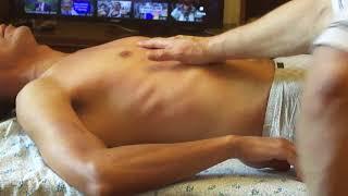массаж груди часть 2