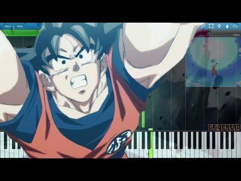 Dragonball Super OST - Genki Dama Theme (Piano Tutorial) [Synthesia]