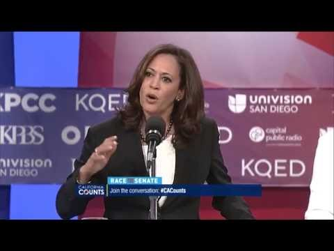 U.S. Senate Candidates Kamala Harris And Loretta Sanchez On Immigration