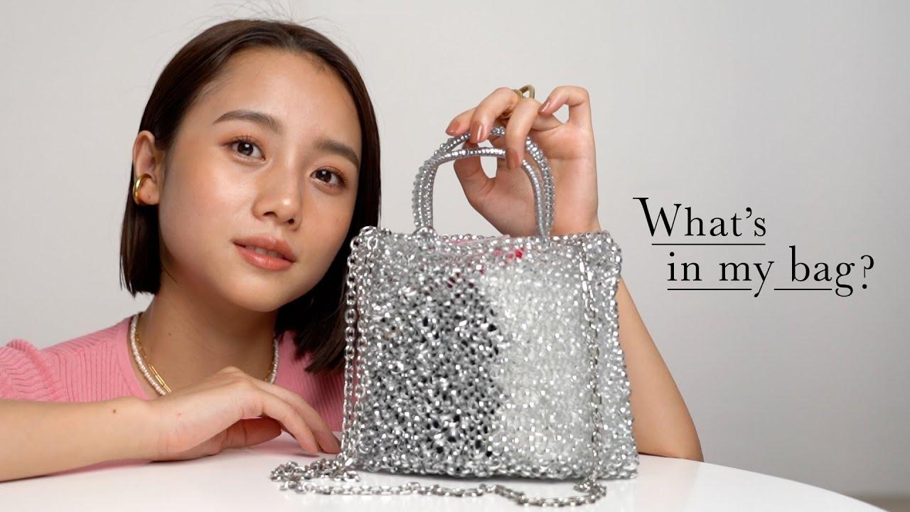 【カバンの中身】小さめバッグの中身を紹介!what's in my bag?