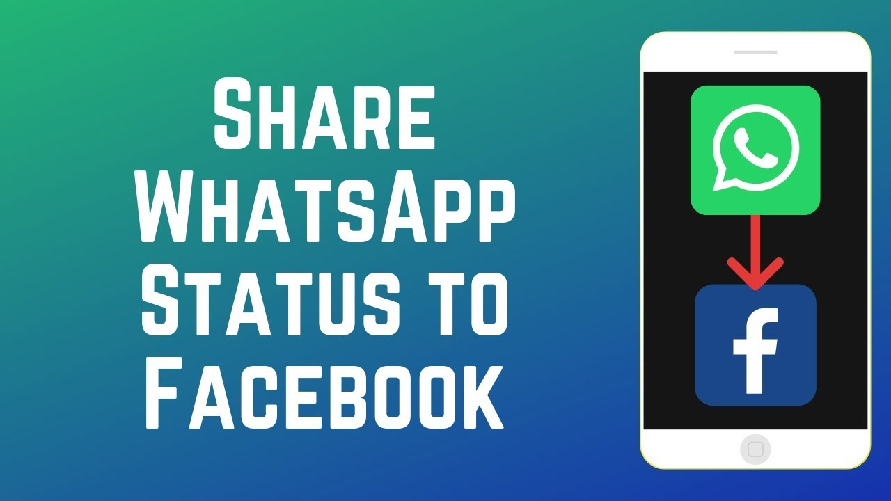 How To Share Your Whatsapp Status To Facebook Story