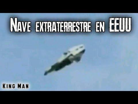 Nave extraterrestre o nuevo prototipo terrestre grabada en EEUU (OVNI)