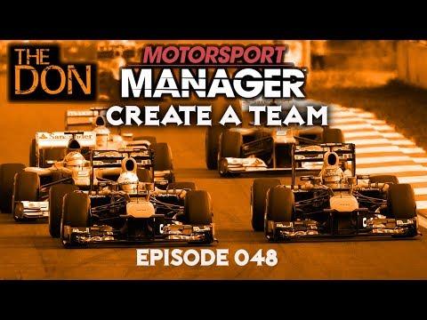 Let's Play Motorsport Manager Create a Team - EP48 - United Arab Emirates Grand Prix